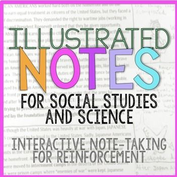 Illustrated Notes Interactive Note Taking School 7th