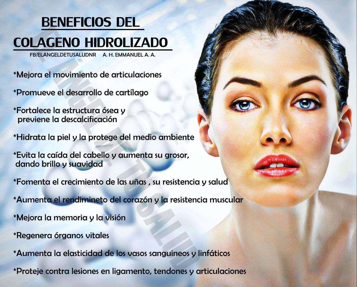 Beneficios del colageno hidrolizado salud y belleza pinterest salud liquid detox and vitamins - Alimentos con colageno hidrolizado ...