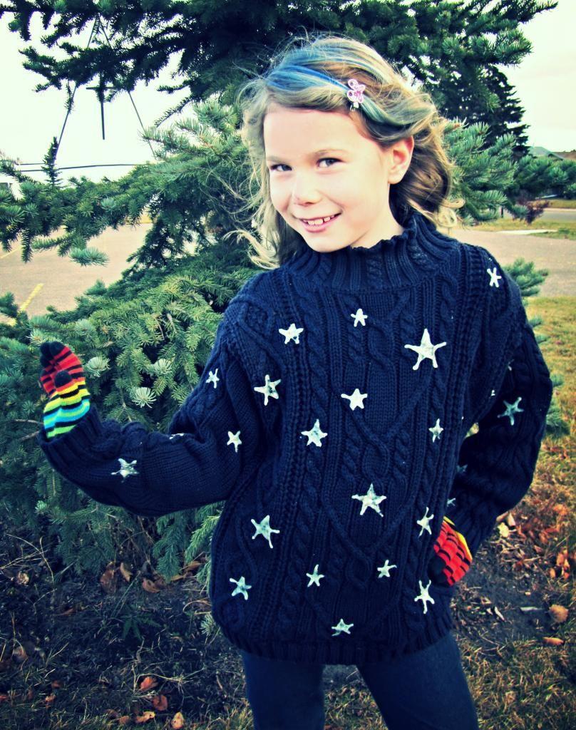 Indietutes Coraline S Stars Star Sweater Coraline Costume Sweaters