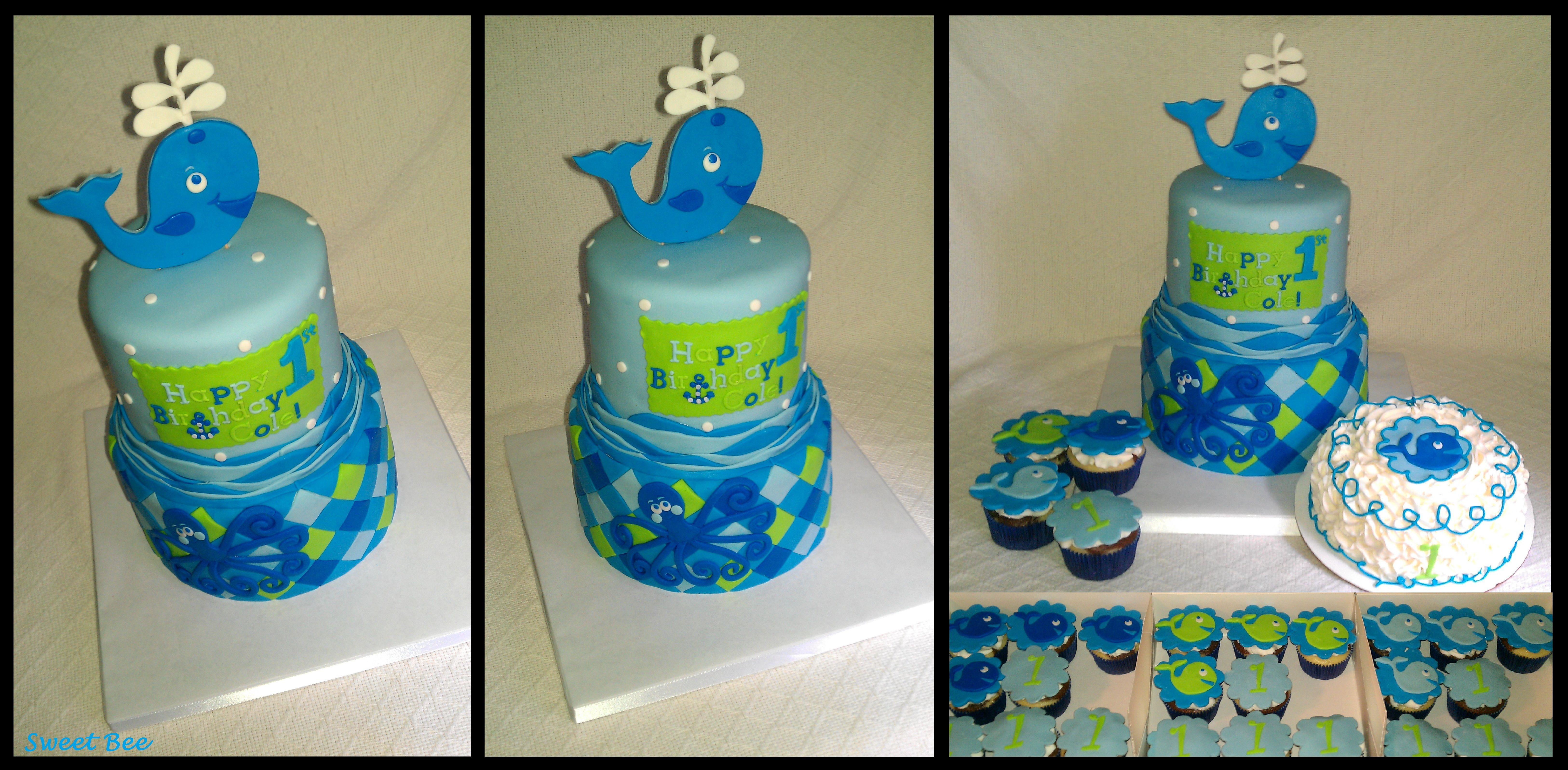 Whale 1st Birthday Sweet Bee Pinterest Birthdays Whale