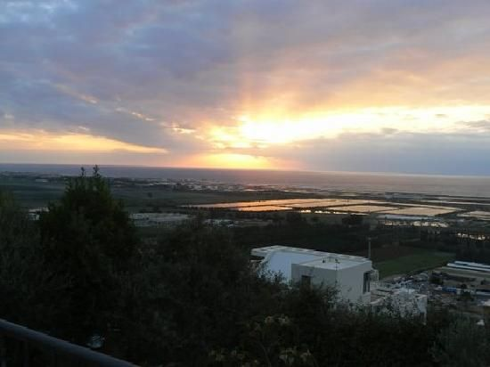 Sunset over the Mediterranean in Zichron Yaakov. I'm going back someday.