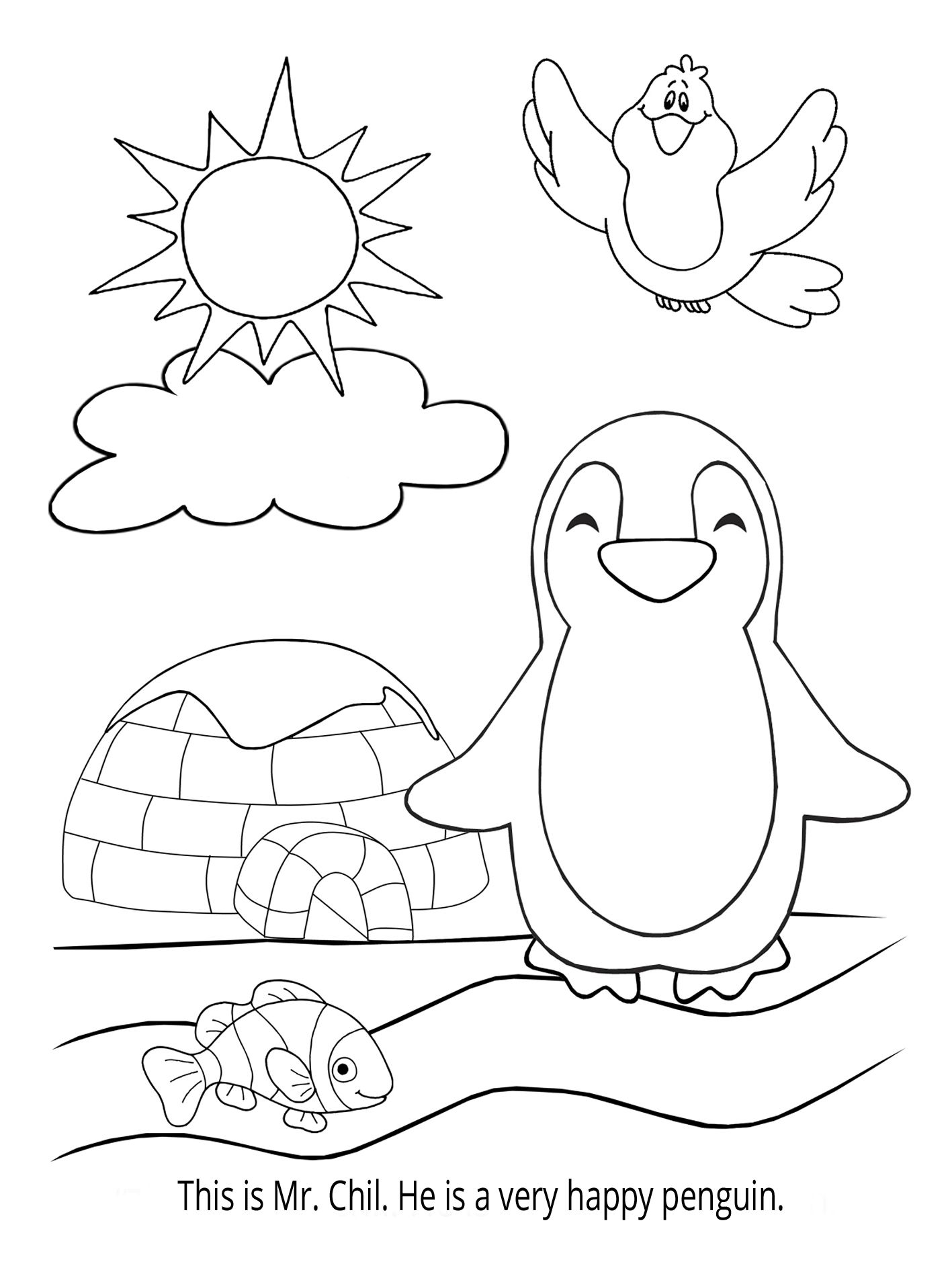 {FREE} Fun Coloring Page! (And Fun Ways to Use Coloring