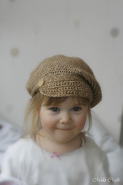 Gavroche newsboy hat pattern by Muki Crafts | knitting | Pinterest