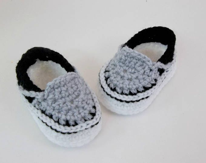 Crochet PATTERN. Vans style baby sneakers. Instant Download | dhz ...