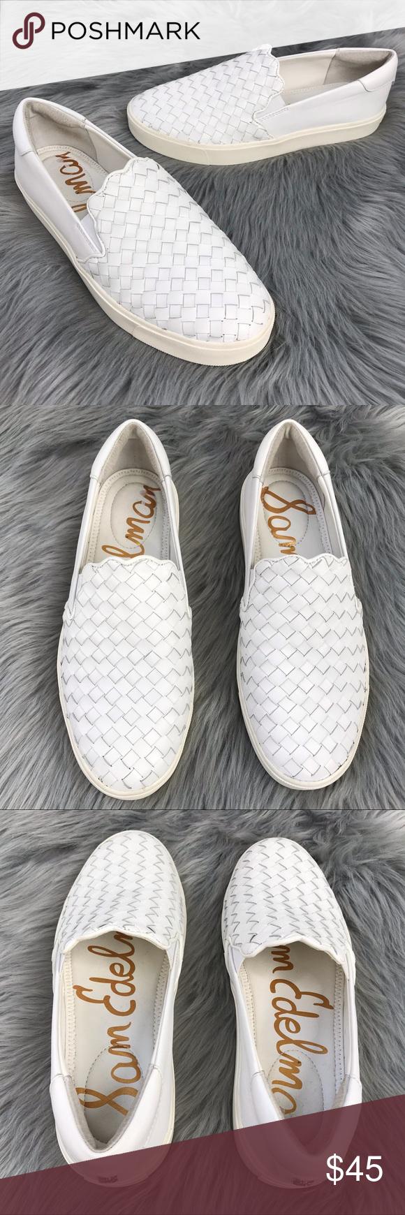 Sam Edelman Eda Woven Leather Sneakers