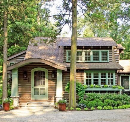 A Quirky 1930s Craftsman Built Indiana Cabin Becomes An Enchanting Cottage  Getaway After A Thorough
