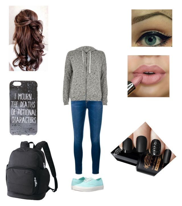 """""""LC #1"""" by ou-peterpan-at on Polyvore featuring Frame Denim, River Island, Vans and Pacsafe"""