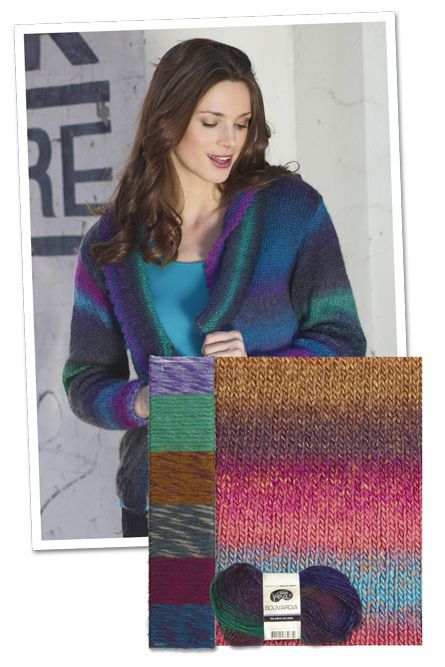 BOUVARDIA JACKET | Knitting & Crochet | Pinterest