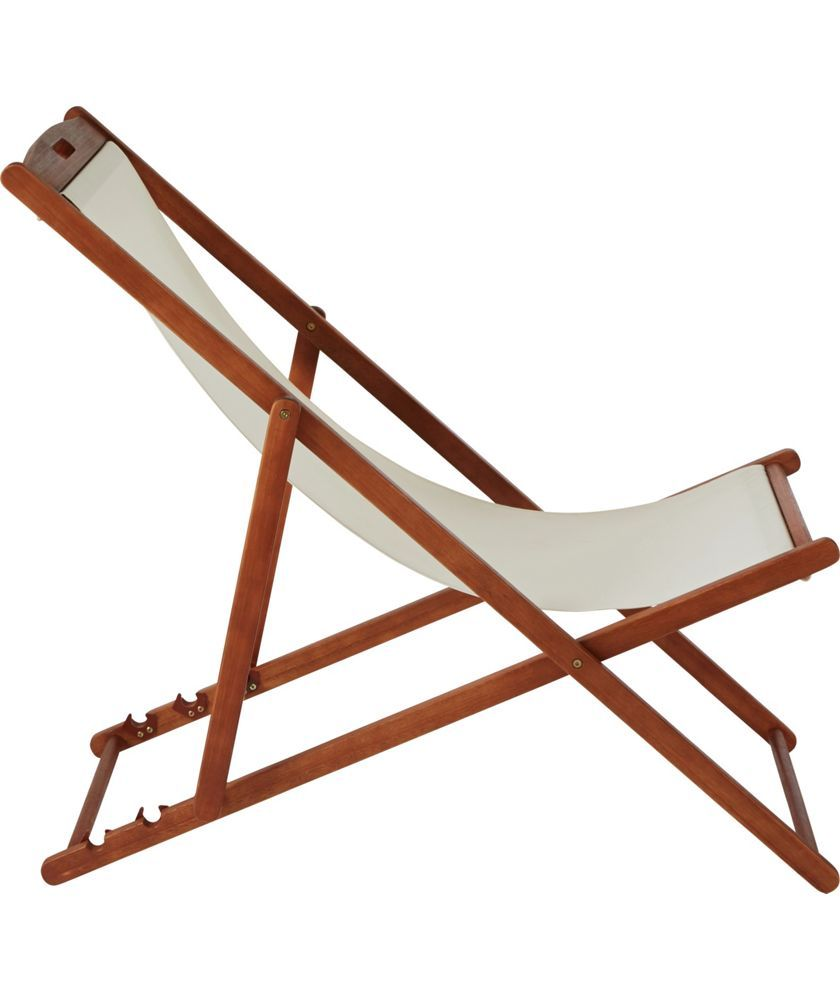 Buy Deck Chair - Cream at Argos.co.uk - Your Online Shop for Garden chairs and sun loungers.  sc 1 st  Pinterest & Buy Deck Chair - Cream at Argos.co.uk - Your Online Shop for Garden ...