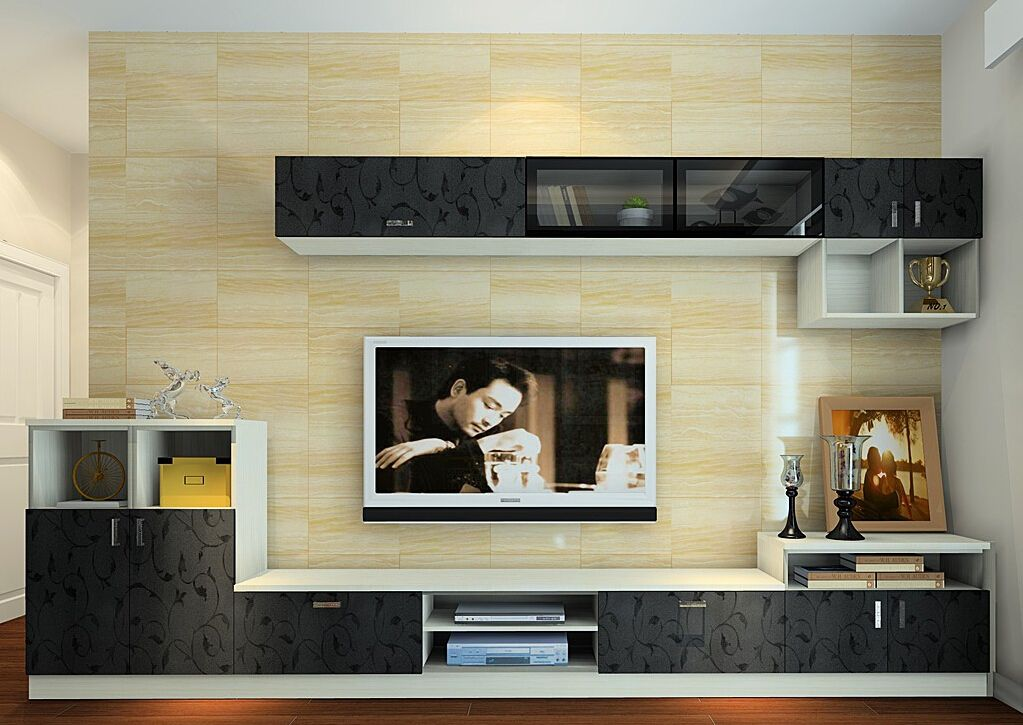 German Living Room Tv Cabinet Combo 3d Design Living Room Living Room Tv Cabinet Simple 6