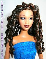 Naturally Beautiful Hair doll