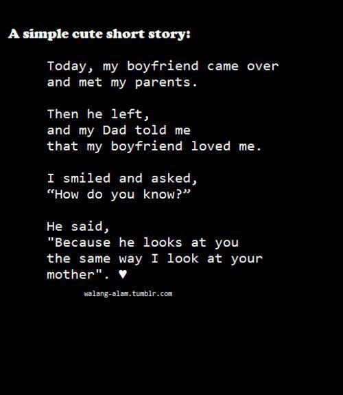 A love story to tell your girlfriend