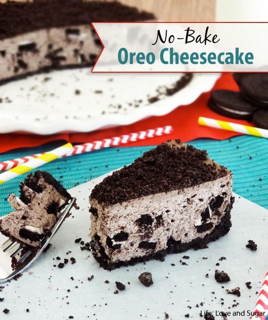 No Bake Oreo Cheesecake Oreo cheesecake Oreo and Cheesecakes