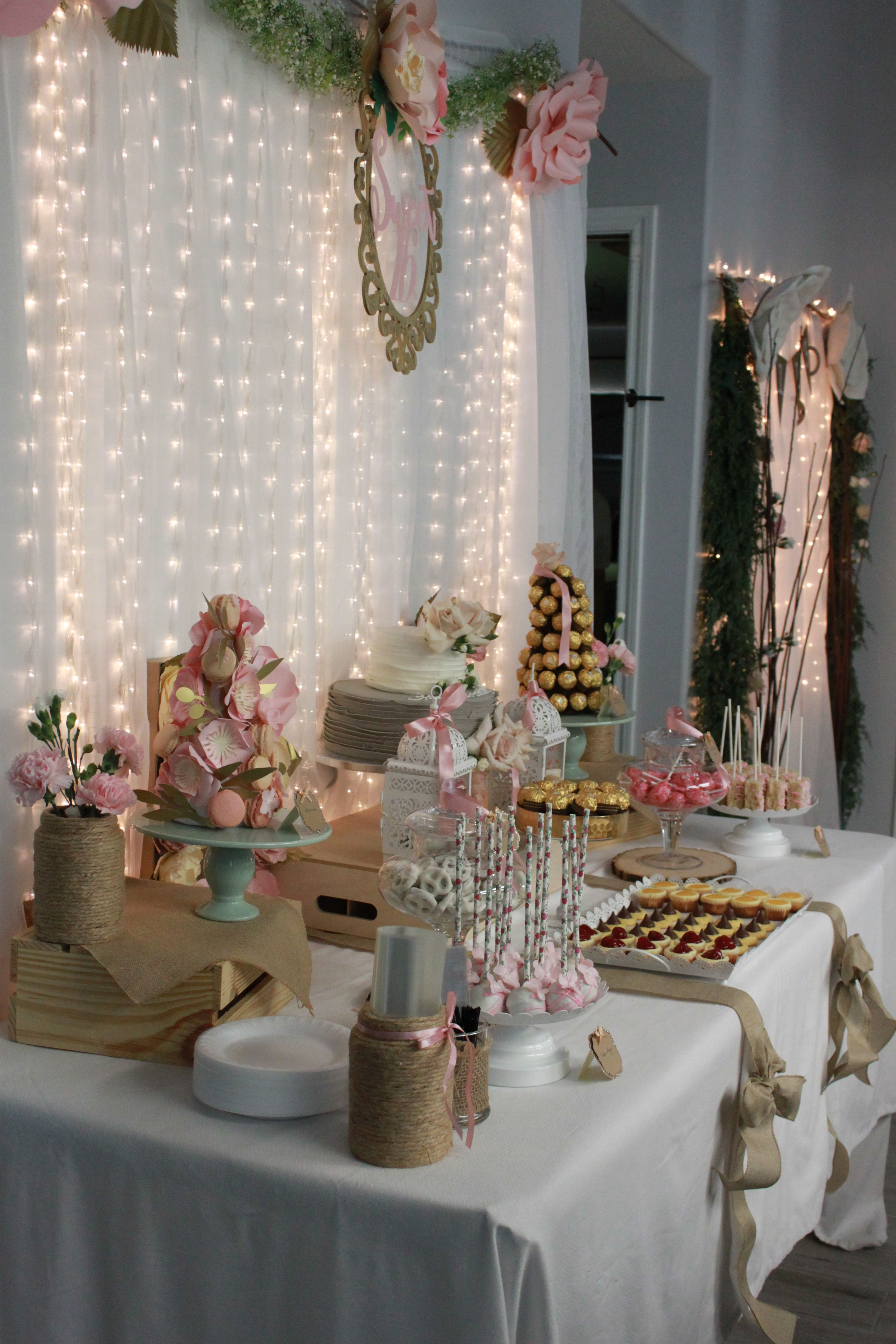 Pin by DelecTable Decor on Sweet 16: BOHO CHIC | Table ...