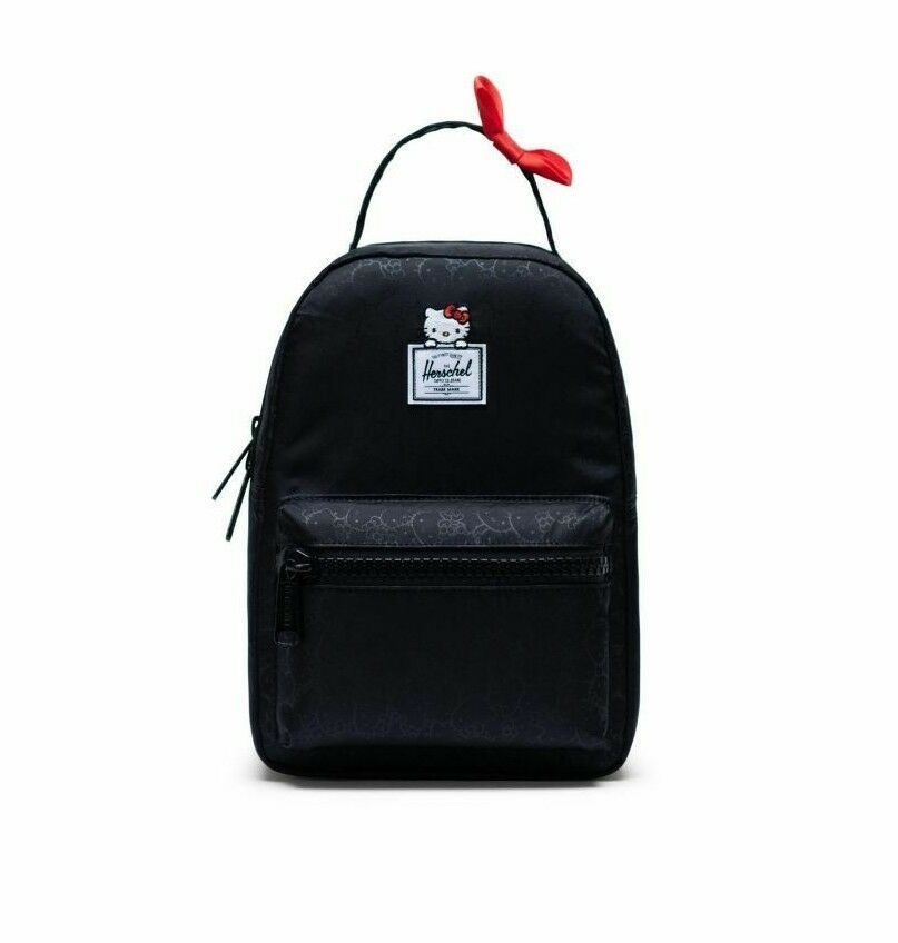 1f9d8359ef7 Herschel Supply Co. x Hello Kitty Nova Mini Women s Small Backpack Bag  Black  HerschelSupplyCo  Backpack  hellokitty  shop  womens  womensfashion   style   ...