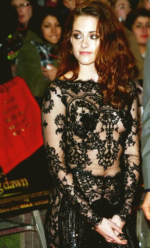 At the Breaking Dawn Part 2 London Premiere