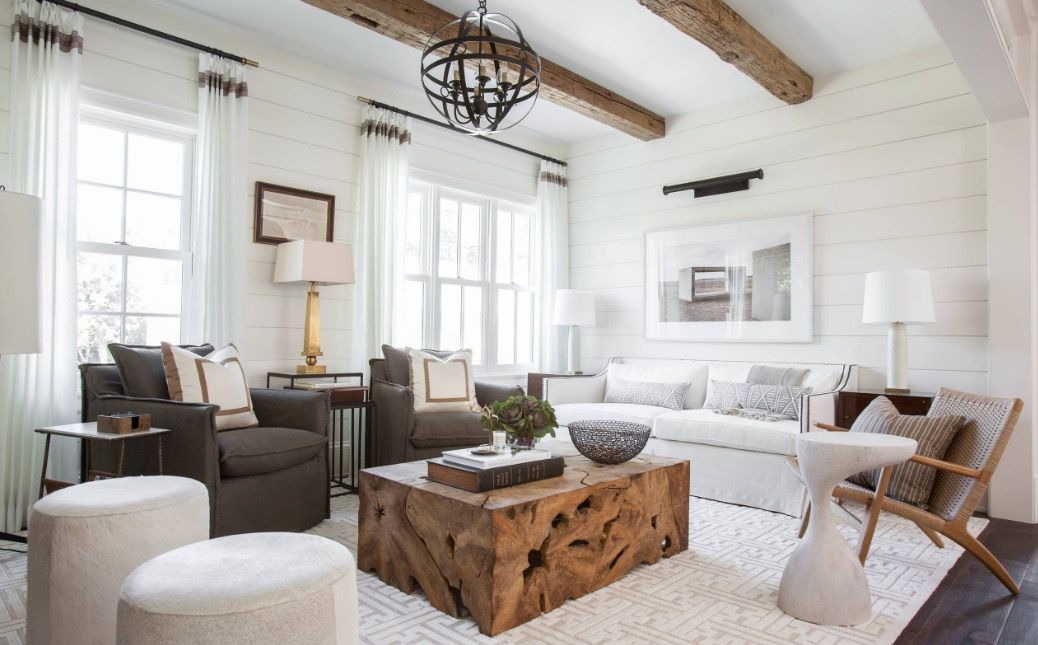 The 4 Most Common Living Room Mistakes (and How to Fix Them) -  https://freshome.com/livin… | Rustic living room, Farm house living room,  Interior design living room
