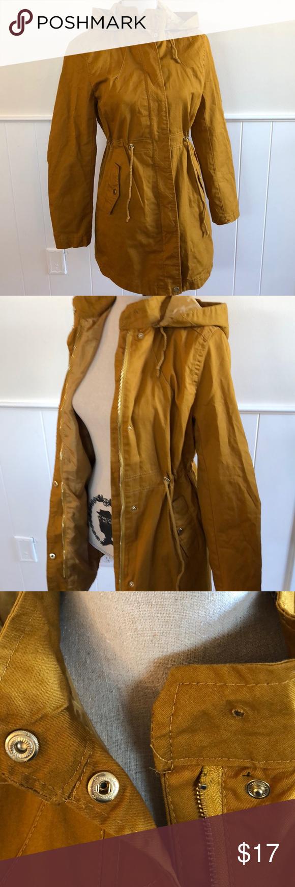 Nwt Forever 21 Golden Yellow Utility Jacket Jackets Cotton Jacket Forever 21 Jacket [ 1740 x 580 Pixel ]