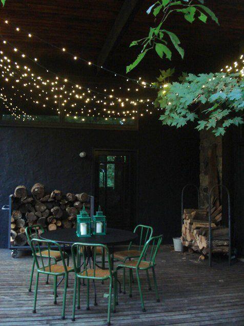 The Best Outdoor String Lights Casinha Ester Pinterest