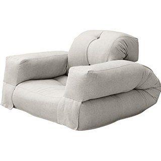 Fresh Futon Hippo Convertible Chair Bed Mattress Natural