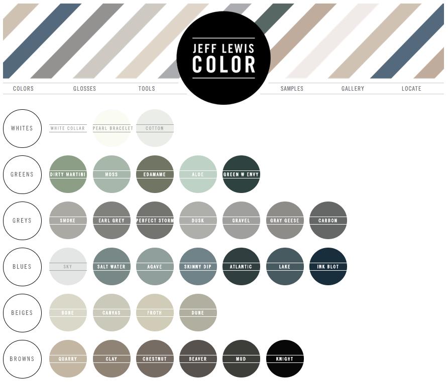 Dunn Edwards Jeff Lewis Color Palette Jlc315 Lake Quarter