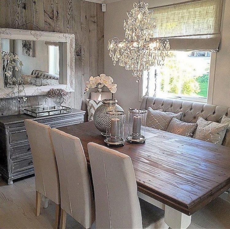 90 Great Modern Farmhouse Dining Room Design Ideas Diningroom