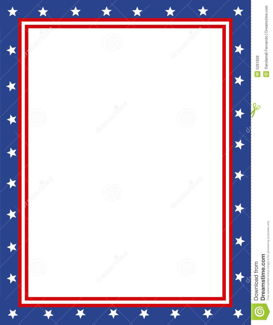 Summer camp border clipart free images 4 - Free Patriotic Page Borders Patriotic Border
