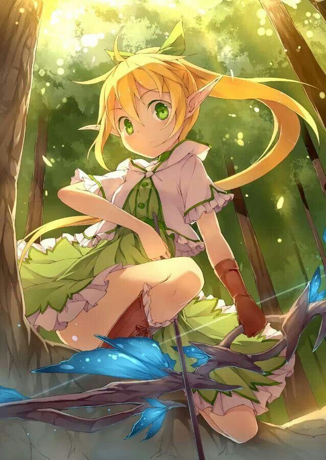 Sweet Elf Girl Anime Elf Anime Anime Art