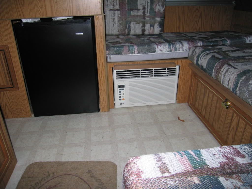 Window Air Conditioner In Rockwood Pop Up Camper Google