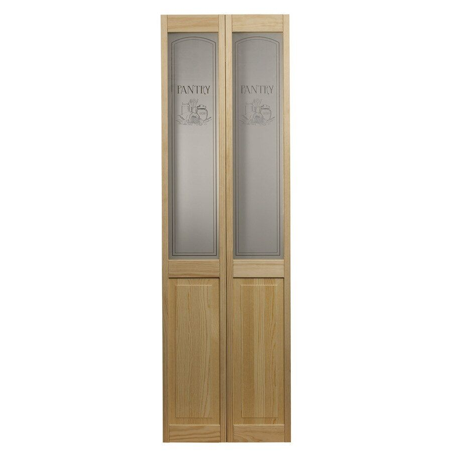 24 Inch Pantry Door Lowes In 2020 Glass Bifold Doors Bifold Door Hardware Bifold Doors