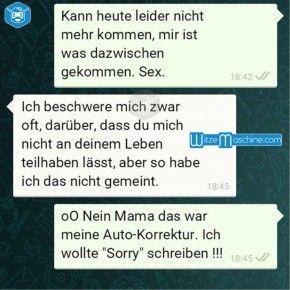 Lustige WhatsApp Bilder und Chat Fails 163 - Sexy Autokorrektur
