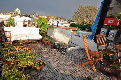 spring garden new rooftop