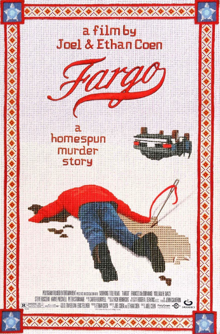 Fargo (1996) Fargo film, Fargo poster, Brothers movie