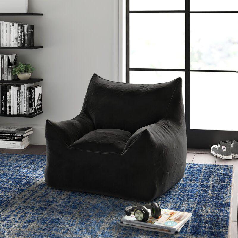 Greyleigh Standard Bean Bag Chair Lounger Reviews Wayfair Bean Bag Chair Bean Bag Living Room Large Bean Bags