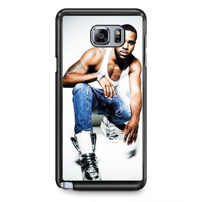Jason Derulo TATUM-5820 Samsung Phonecase Cover Samsung Galaxy Note 2 Note 3 Note 4 Note 5 Note Edge