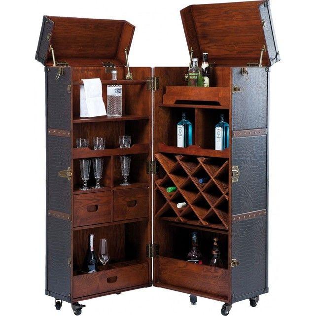 Bar Shipping Trunk Colonial Kare Design Kare Design La Redoute Meuble Bar Mobilier De Bar Design De Maison Contemporaine