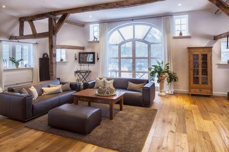 Wohnzimmer landhausstil braun  Wohnzimmer Landhausstil (© U. Brothagen - Fotolia - 48339041 ...