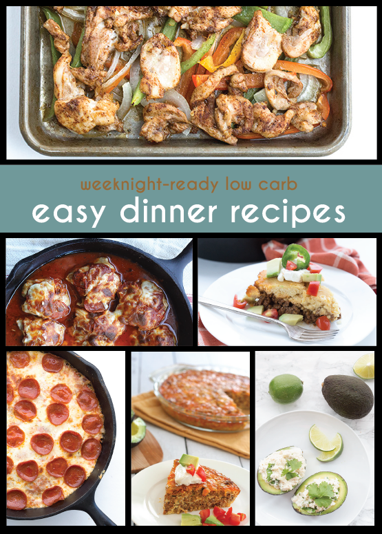 Easy Keto Dinner Recipes for Busy Weeknights | Low Carb Recipes from