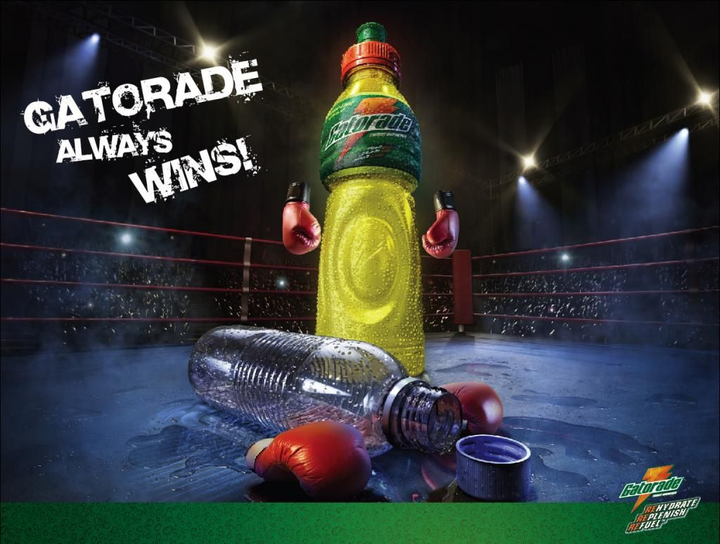 What is the target market profile of Gatorade?