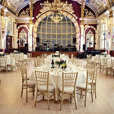 See More About The Old Finsbury Town Hall Wedding Venue In East London