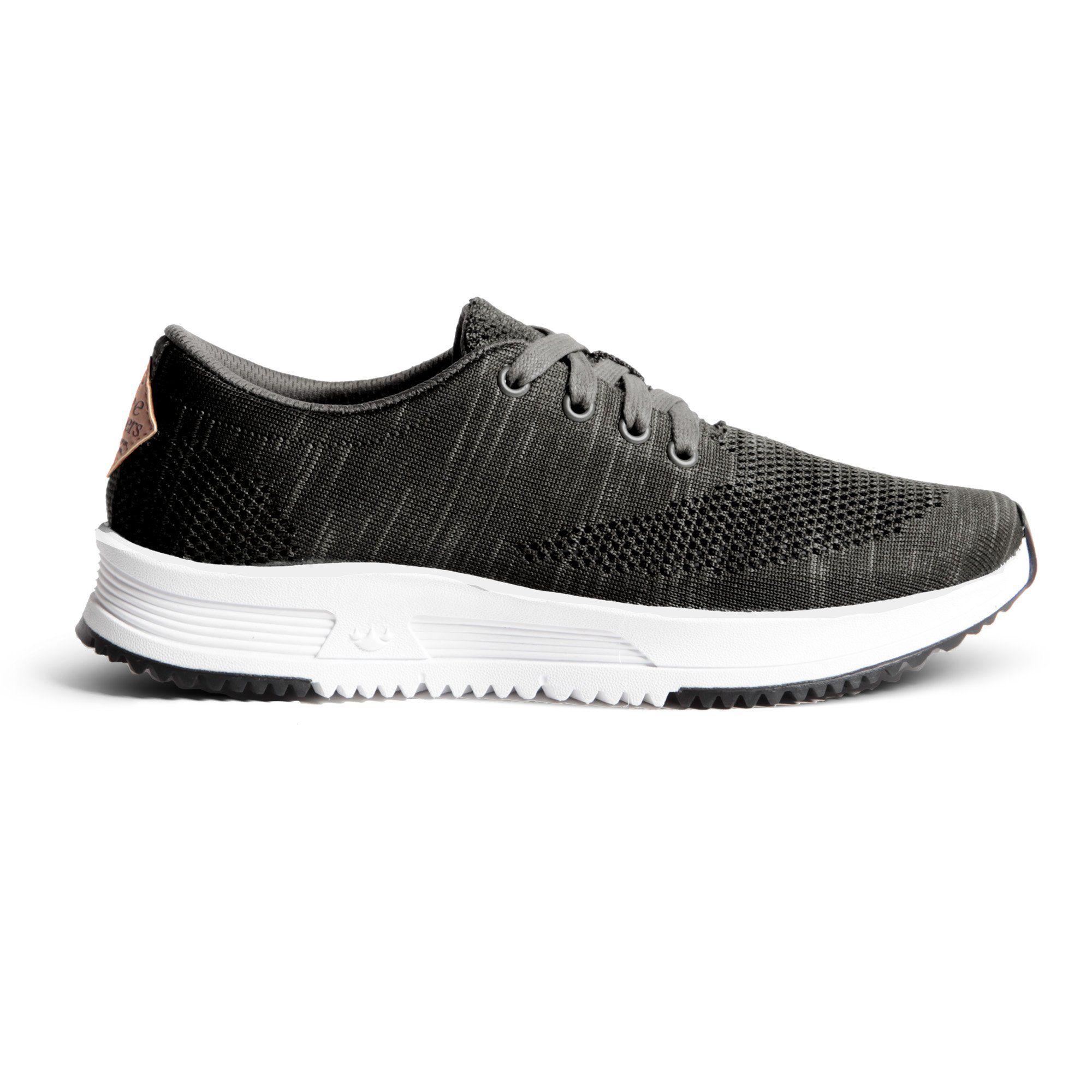 645b3c8c4 Sky Trainer Knit - Black Grey – Freewaters