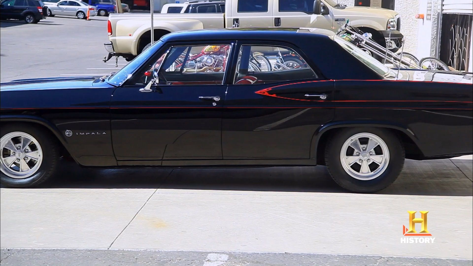 Chevy Impala By Counts Kustoms On Counting Cars Muscle Cars