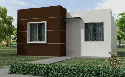 Mira estas 5 lindas fachadas de casas peque as modernas for Casas modernas y baratas