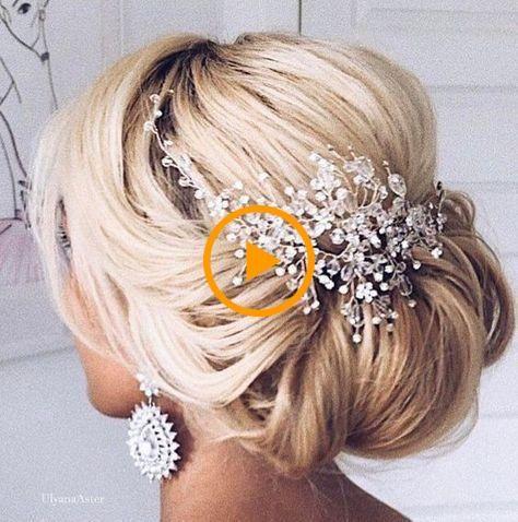 Hermoso peinado de novia para novias: peinado diario fresco