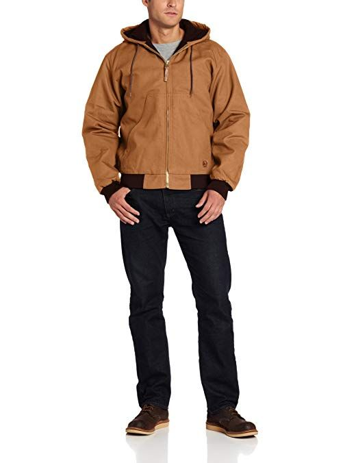 berne men s big tall original hooded jacket review on men s insulated coveralls with hood id=95281