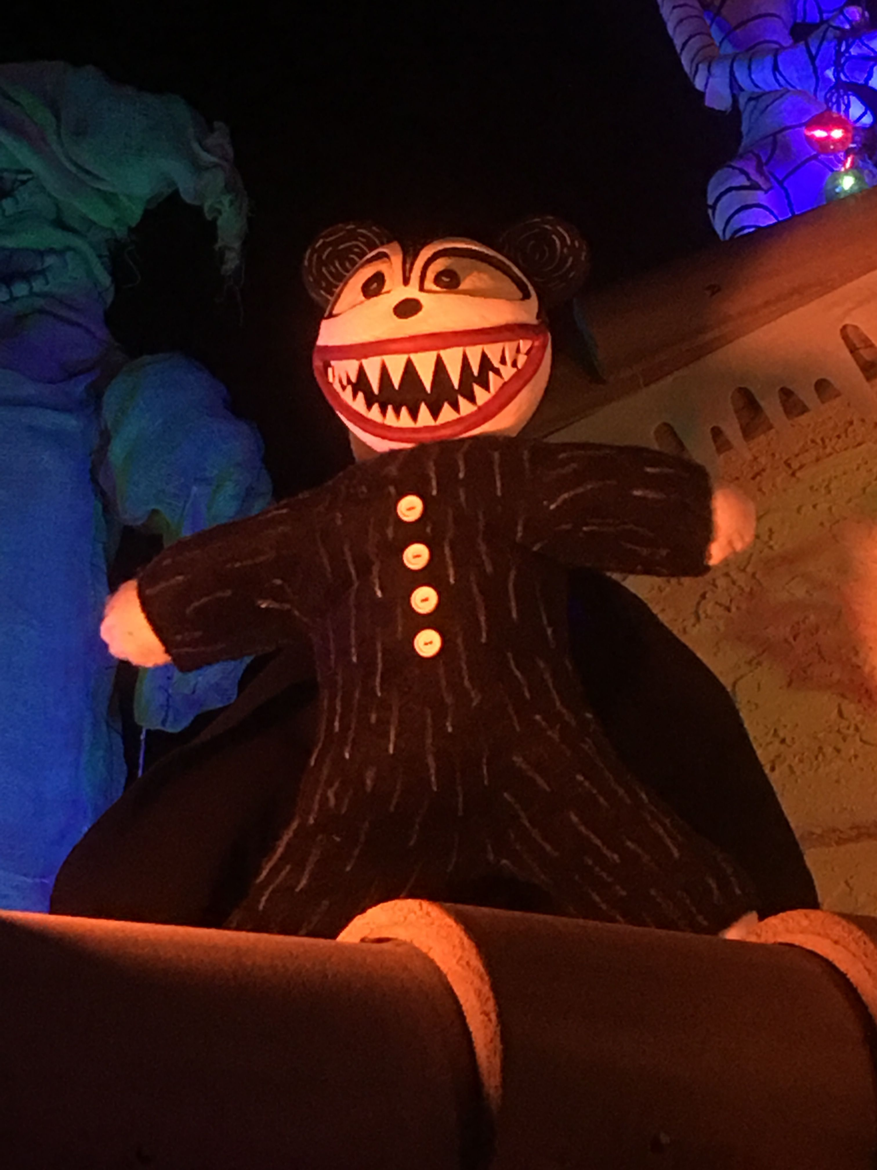 The vampire teddy bear from nightmare before Christmas. He\'s made ...