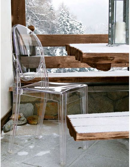 kartell victoria ghost chair : surrounding | dining clear