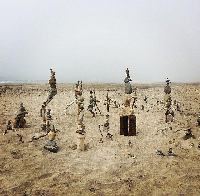 Malibu beach art this afternoon!
