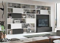 Scaffali Soggiorno ~ Mobili soggiorno moderni mobili tv scaffali e librerie in
