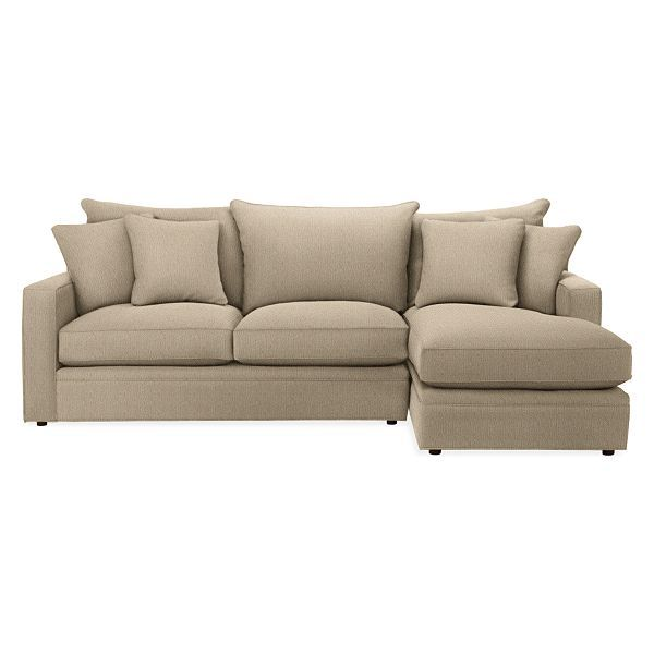 Orson Custom Sofas With Chaise Sofas With Chaise Modern Custom